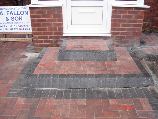A Fallon And Son Surfacing Specialists Steps